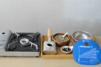 写真:簡単自家焙煎 準備物
