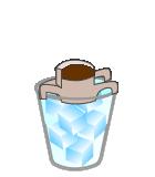 ドリップバッグを使った 急冷式アイスコーヒーの作り方 2
