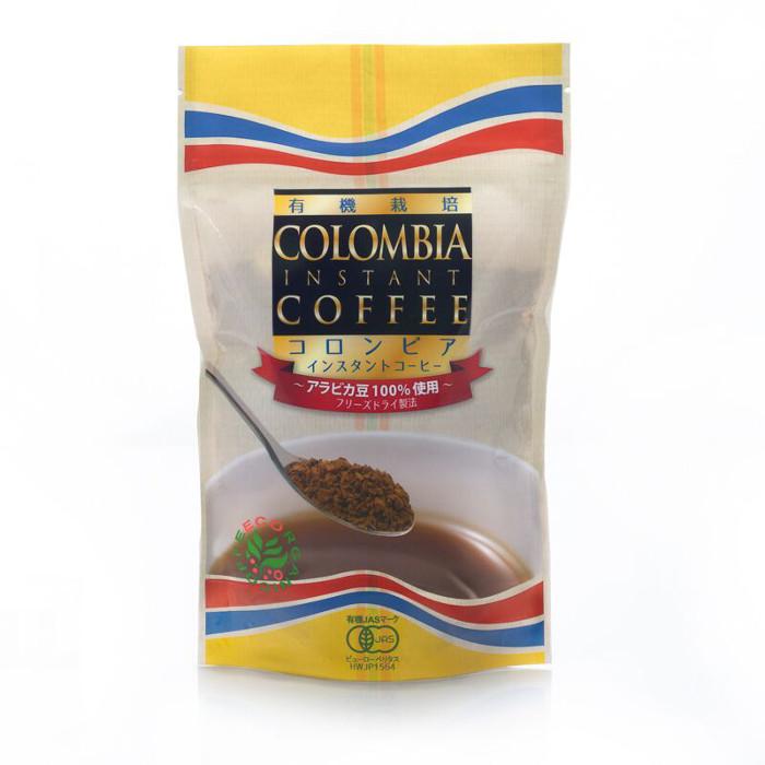 有機栽培コロンビアインスタントコーヒー100g(インスタント)