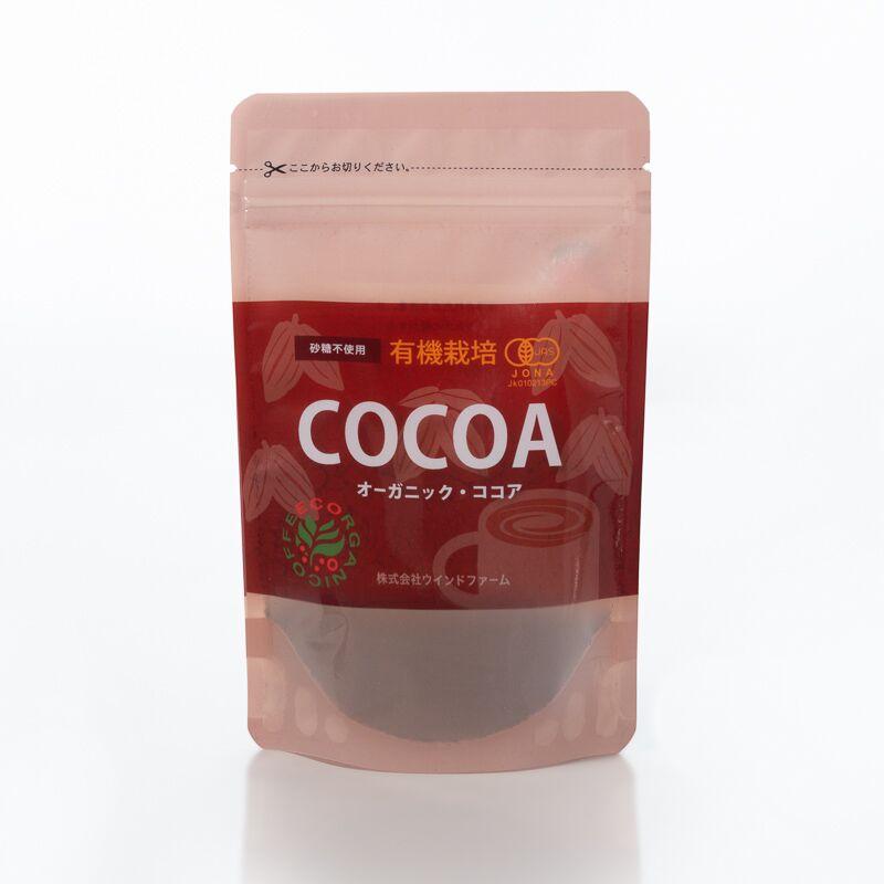 有機栽培ココア80g