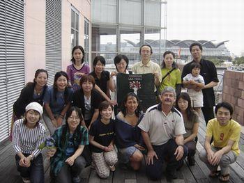 福岡イベントのスタッフたちと