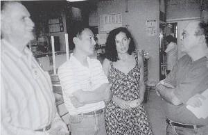 カルロスの次女テルマ(左から3人目)現在、カンピーナス大学教授