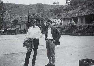 1994年1月、ジャカランダ農場で