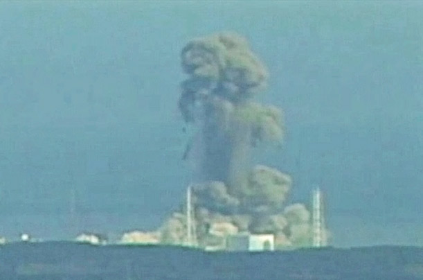 福島原発3号機の爆発