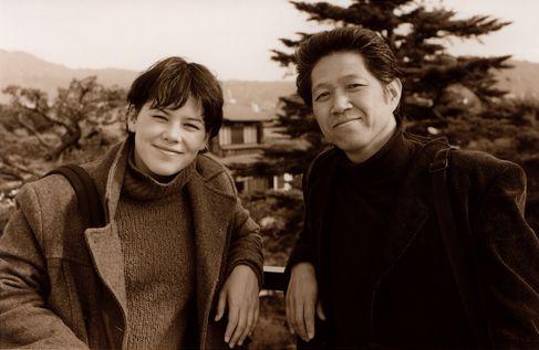2002年セヴァンと中村 京都で