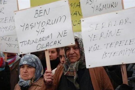原発に反対するトルコのおばあちゃんたち