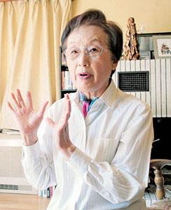 崎山比早子氏「国は被ばくを避ける努力をすべきだ」