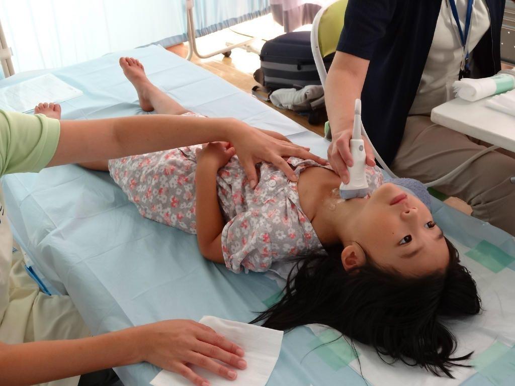 子どもの甲状腺がん検査