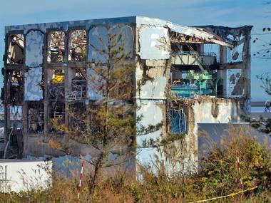 フクイチの爆発したボロボロの建屋